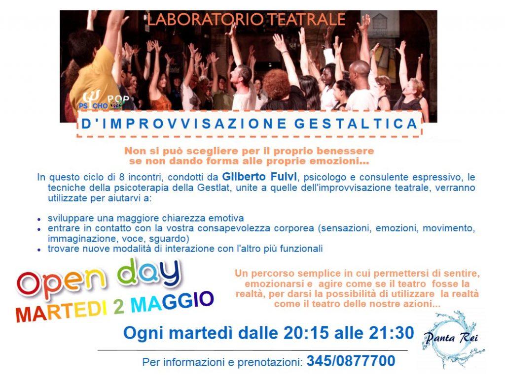 Lab Teatro Terapia Maggio